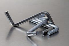 Llaves de hex. de Ikea Imágenes de archivo libres de regalías