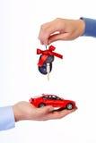 Llaves del coche. Foto de archivo libre de regalías