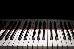 Llaves del piano Fotos de archivo