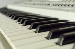 Llaves del piano Imagen de archivo libre de regalías
