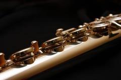 Llaves en una flauta Fotografía de archivo libre de regalías