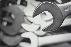 Llaves inglesas ampliables Fotografía de archivo libre de regalías