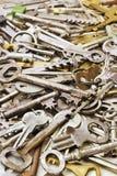 Llaves a las puertas imagen de archivo libre de regalías