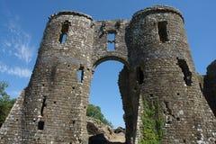 Llawhaden Schloss Stockfotografie