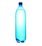 lle acque in bottiglia da 1.5 litri Immagini Stock