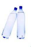 lle acque in bottiglia da 1.5 litri Fotografia Stock Libera da Diritti