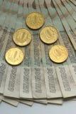 Lle banconote russe di 50 rubli Immagini Stock Libere da Diritti