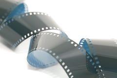Lle bobine del film di 35mm su bianco Fotografia Stock Libera da Diritti