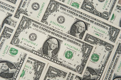 Lle fatture dell'un dollaro Immagine Stock