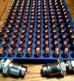 Lle munizioni di ricaricamento di 45 auti Fotografia Stock