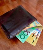 Lle note da 50 dollari australiani Immagine Stock Libera da Diritti