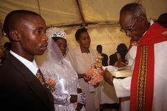 Lle nozze in Sudafrica. Fotografia Stock Libera da Diritti