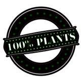 Lle piante di cento per cento Immagine Stock Libera da Diritti