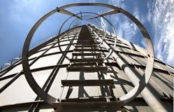 Lle scala a cielo Fotografie Stock Libere da Diritti
