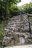 Lle scala di pietra Fotografia Stock