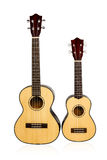 Lle ukulele di due annate Immagine Stock