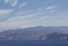 Llegada a Acapulco Foto de archivo libre de regalías
