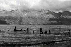 Llegada de la tormenta Fotografía de archivo libre de regalías