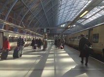 Llegada de Londres Foto de archivo