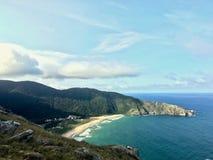 Llegada el paraíso de la playa fotografía de archivo