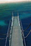 Llegada a la orilla Imagen de archivo