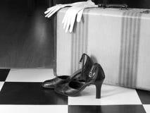 Llegada retra Fotografía de archivo libre de regalías