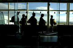 Llegadas del aeropuerto imagen de archivo