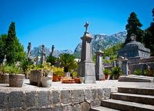 Ller ³ SÃ, кладбище Стоковое Изображение