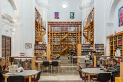 Llerena library Spain Stock Images