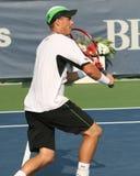 Lleyton Hewitt: Het professionele salvo van de tennisspeler Royalty-vrije Stock Foto's