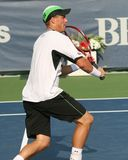Lleyton Hewitt: Professional tennis player volley Royalty Free Stock Photos
