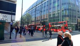 Llifestyle en Londres imágenes de archivo libres de regalías