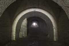 Llight w końcówce tunel Obrazy Stock