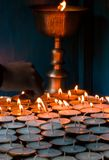Llighting candles Royalty Free Stock Photos