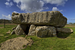 Lligwy Burial Chamber,  Anglesey Stock Photos