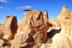 Llimestones em Cappadocia, Turquia Fotos de Stock Royalty Free