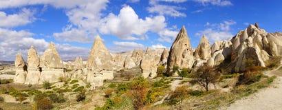Llimestones i Cappadocia, Turkiet Royaltyfria Foton