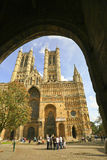 Llincoln Cathedral, Lincoln, Lincolshire, UK Stock Photo