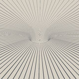 Lline projekta 3D dziury abstrakta tło Obraz Royalty Free