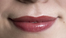 Llips of a woman Royalty Free Stock Photography