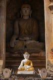 Llittle et grand Bouddha Image stock
