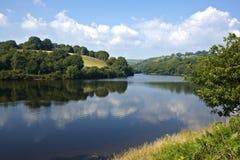 Lliw-Reservoir nahe Swansea Lizenzfreie Stockfotografie