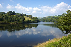 Lliw reservoir near Swansea Royalty Free Stock Photography