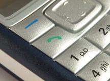 Llámeme - teléfono móvil. Imagenes de archivo