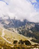 Llogara pass royalty free stock images