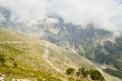 Llogara pass royalty free stock photography