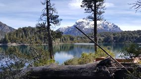 Lloo Llao Municipal Park in Bariloche stock image