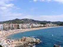 Lloret de Fördärva, Girona - Spanien Fotografering för Bildbyråer