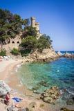 Lloret de Mar, Κόστα Μπράβα, Hiszpania στοκ εικόνες