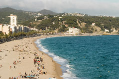 Lloret de mar Испания стоковая фотография
